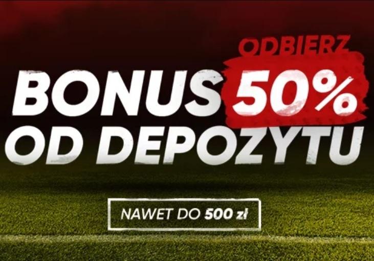 Tylko dziś aż do 500 PLN od forBET!