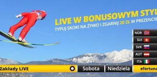 Promocje na skoki: Fortuna z dwoma bonusami!