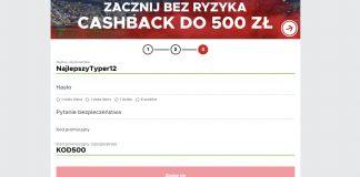 Cashback 500 w BetClic. Kod promocyjny: KOD500